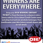 Ohio Lottery Ad Border