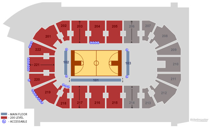 The Seating at Covelli Center